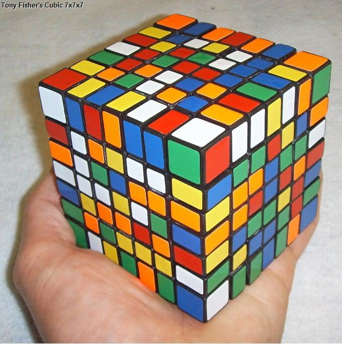 Tony Fisher's Cubic 7x7x7