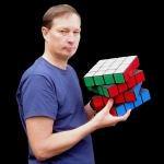 Tony Fisher's Giant 4x4x4 Rubik's Cube