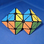 Tony Fisher's Siamese Skewb Diamonds Puzzle