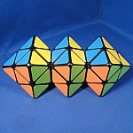 Tony Fisher's Triamese Skewb Diamonds Puzzle