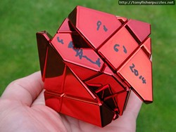 Mefferts Red Ghost Cube Puzzle