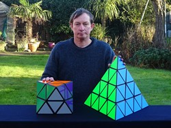 Tony Fisher's Giant Skewb Diamond