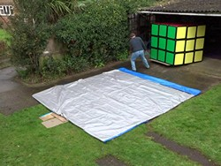 Largest Rubik's Cube Puzzle in the world!!!