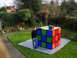 Biggest Rubik's Cube Puzzle in the world!!!