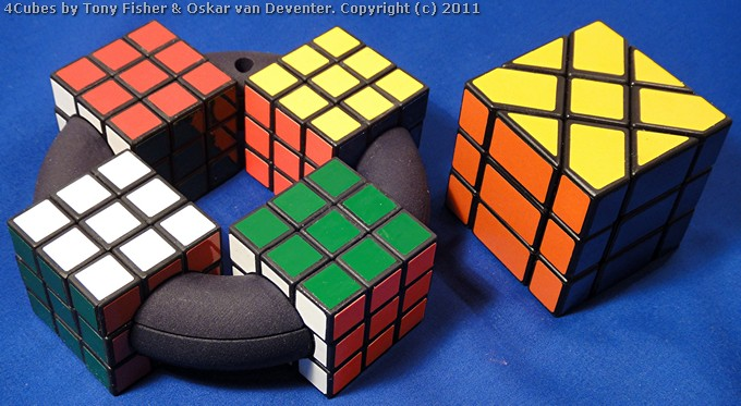 4Cubes by Tony Fisher and Oskar van Deventer