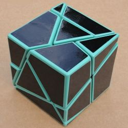 Green Golden Cube
