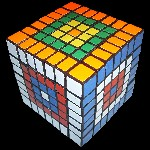 Tony Fisher's Cubic 7x7x7 puzzle