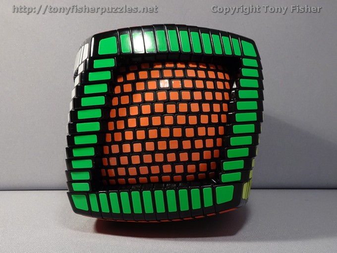 Tony Fisher's 13x13x13 Ball in a Cube Puzzle