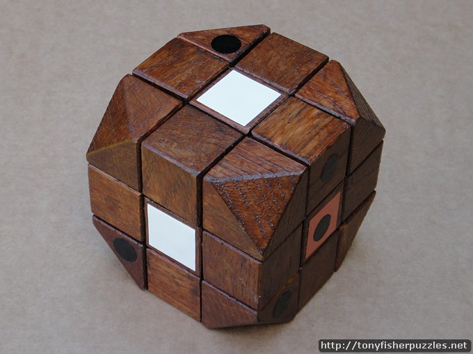 tony fisher 39 s replica of the wooden rubik 39 s cube prototype. Black Bedroom Furniture Sets. Home Design Ideas