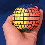 Tony Fisher's Black 7x7x7 V-Ball Puzzle