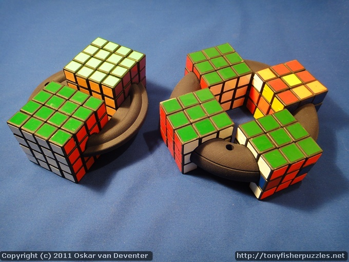Cubes on a Disk by Oskar van Deventer and Tony Fisher