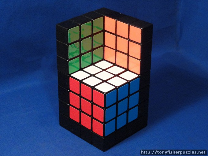 Tony Fisher's Cubillusion Puzzle