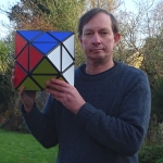 Tony Fisher's Giant Skewb Diamond Puzzle