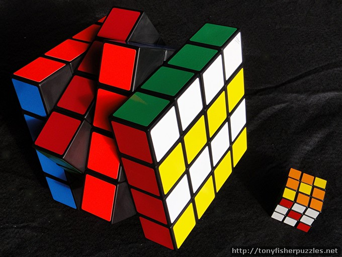 Tony Fisher's Giant 4x4x4 Rubik's Cube Puzzle