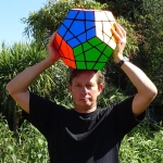 Tony Fisher's Giant Megaminx Puzzle