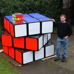 Tony Fisher's Largest Rubik's Cube Puzzle in the world