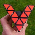 Tony Fisher's Open Master Pyraminx Puzzle
