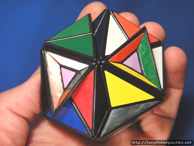 Truncated Helicopter Cube by Tony Fisher