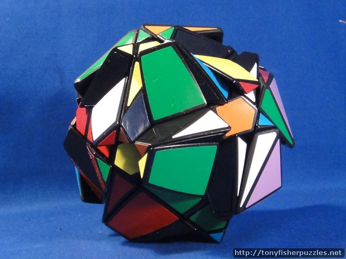 Tony Fisher's Truncated Pillowed Hexaminx Puzzle