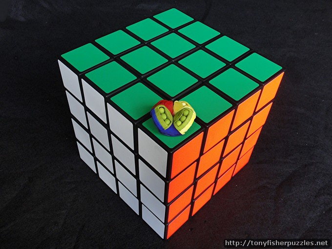 Tony Fisher's Giant 4x4x4 Rubik's Cube Puzzle & Mini Astrolabacus