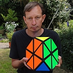 Tony Fisher's Giant Tetraminx Puzzle