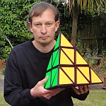 Tony Fisher's Giant Pyraminx Puzzle