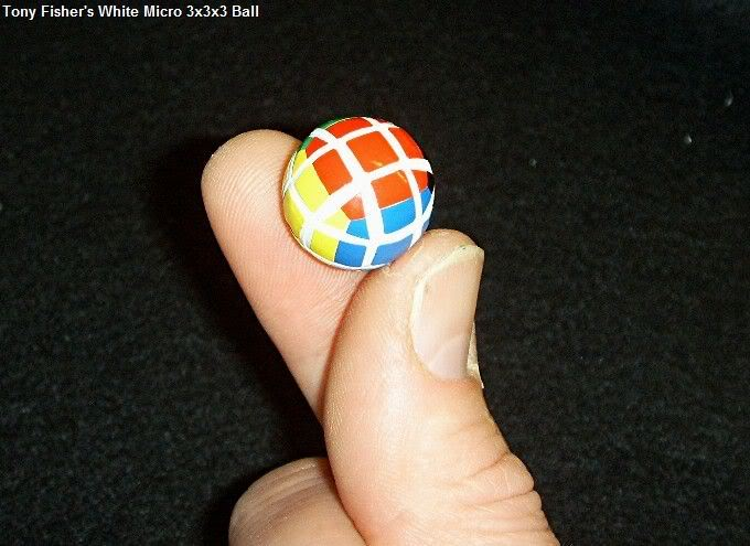 Tony Fisher's White Micro 