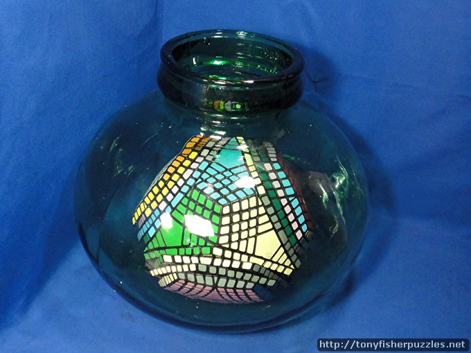 Tony Fisher's Impossible Petaminx Puzzle in a Bottle