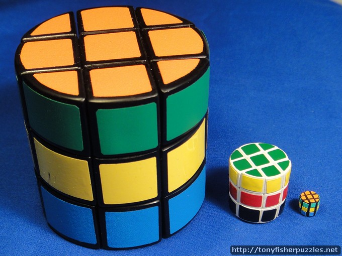 Tony Fisher's Sub-atomic Cylinder Cube