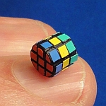 Tony Fisher's Subatomic Cylinder Cube Puzzle
