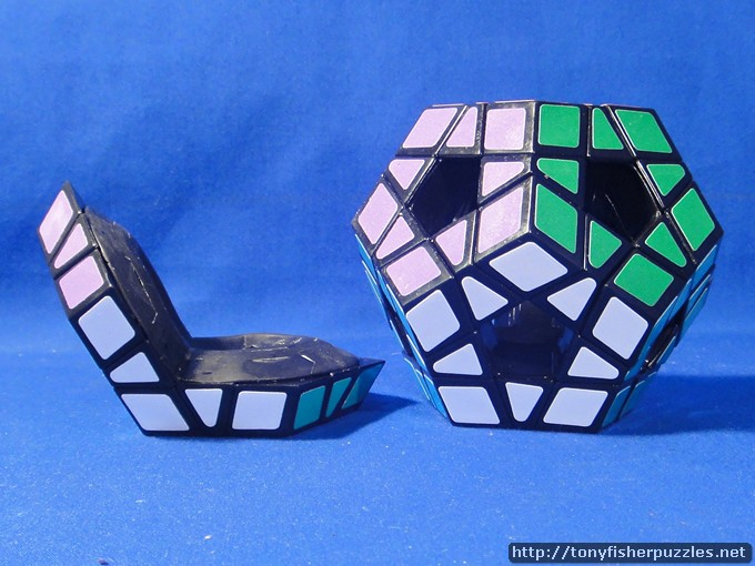 Tony Fisher's Siamese Void Pentagons  Puzzle