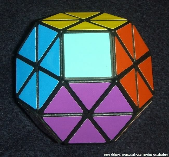 Tony Fisher's Face Truncated face Turning Octahedron puzzle