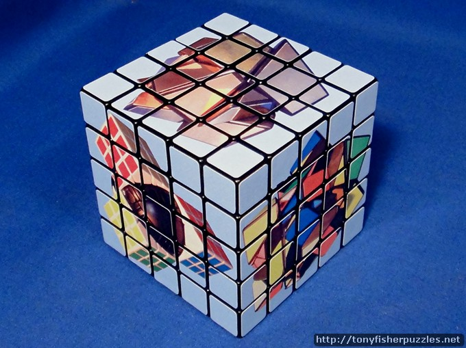 Tony Fisher's 5x5x5 Picture Cube Puzzle
